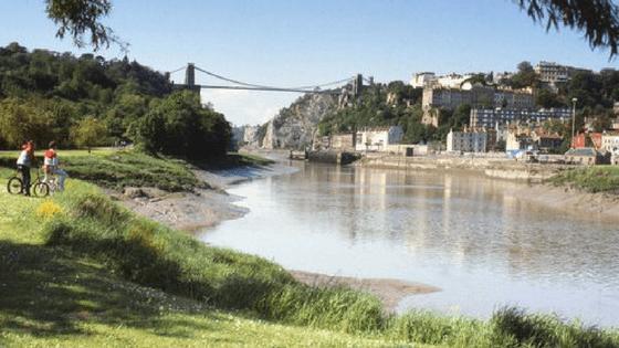 picture of bristol city bridge
