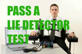 how to pass a lie detector test