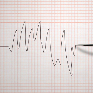 videoblocks animation of a polygraph lie detector test needle drawing a black line on graph paper on an grid white background rdejdbde thumbnail full