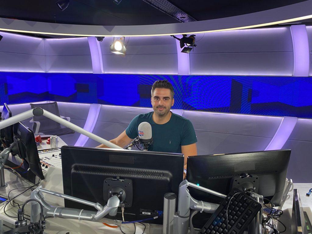 Jason Hubble on Capital Radio's Breakfast Show Lie Detectors UK